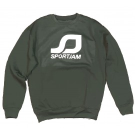 Sweatshirt Green Navy