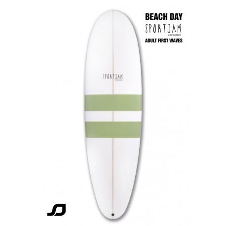 Beach day Sportjam surfboards